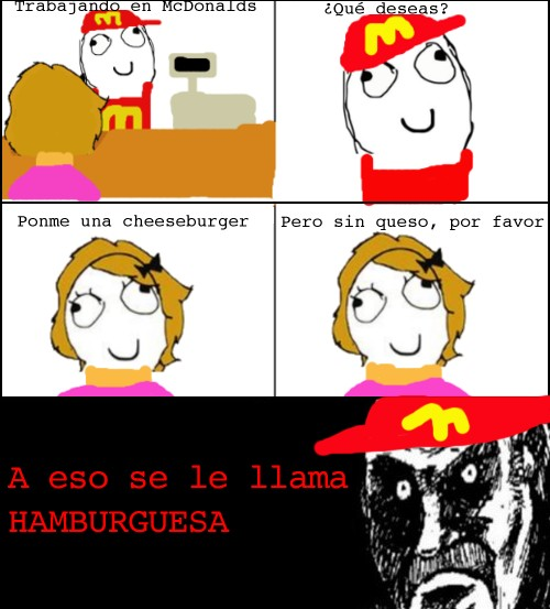 Mirada_fija - Una cheeseburger, por favor
