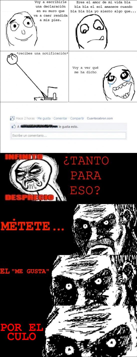 Mirada_fija - Escribiendo en facebook