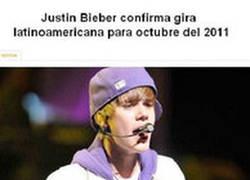 Enlace a No sólo Justin Bieber viene a Sudamérica en Octubre