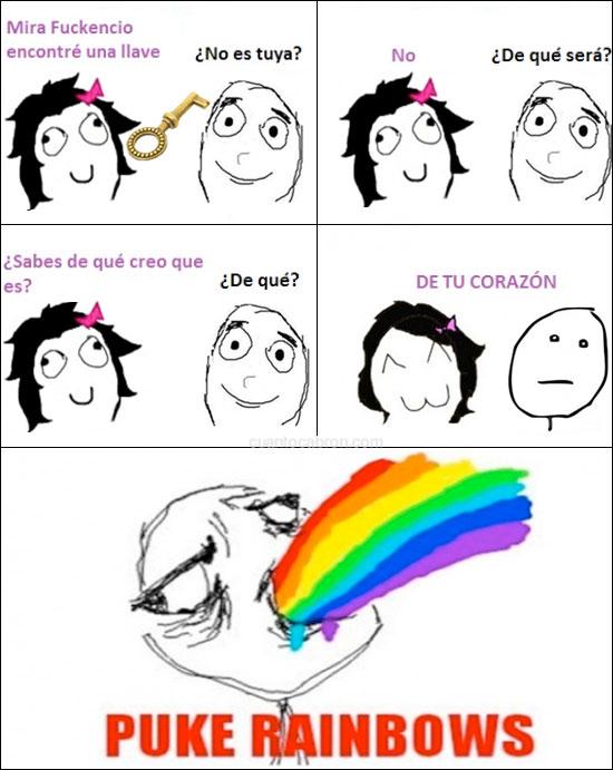 Puke_rainbows - La llave