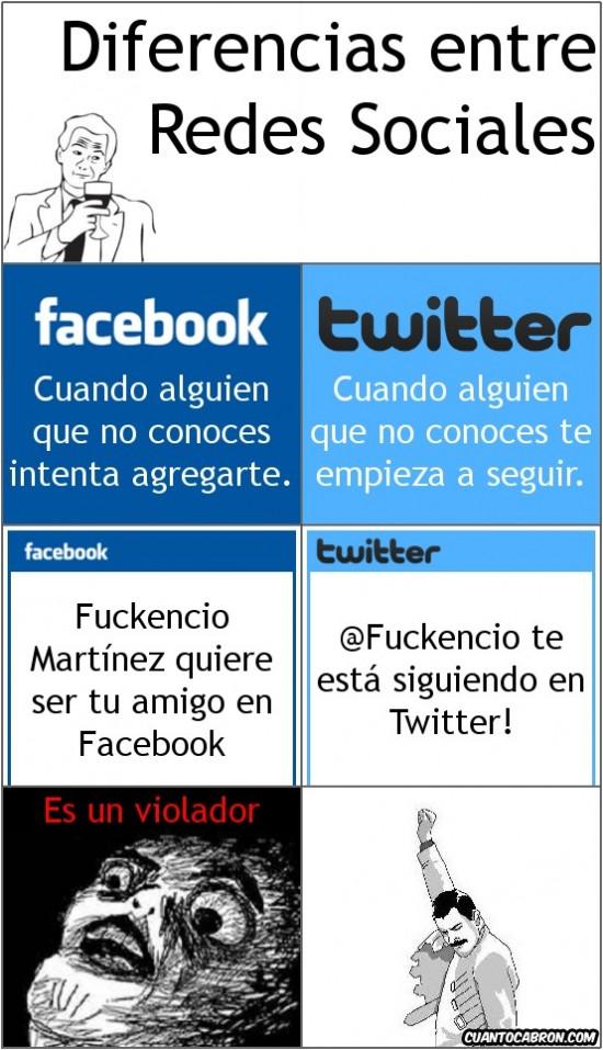 Mix - Diferencias entre Redes Sociales.