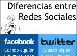 Enlace a Diferencias entre Redes Sociales.