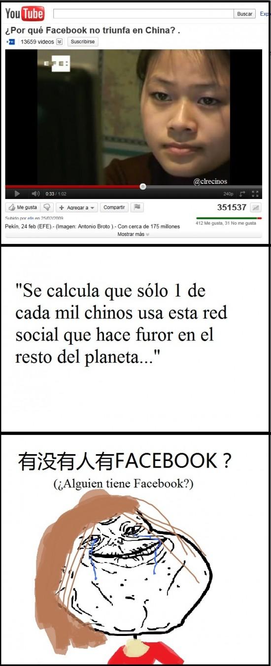 Forever_alone - Facebook y los chinos