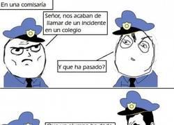 Enlace a Los policías y los colegios