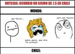 Enlace a Terremoto en Chile