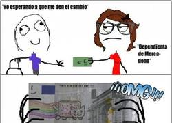 Enlace a Billete Nyan cat
