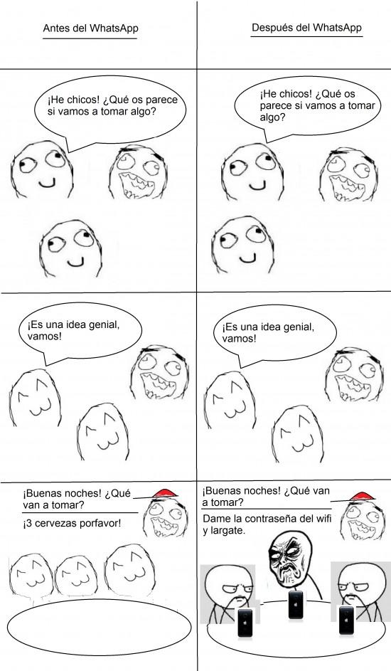 Infinito_desprecio - El WhatsApp de los cojones