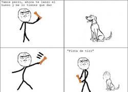 Enlace a Jugando con el perro