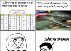 Enlace a Cómo vemos los exámenes antes y después