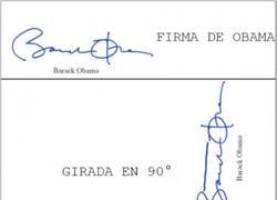 Enlace a La firma de Obama