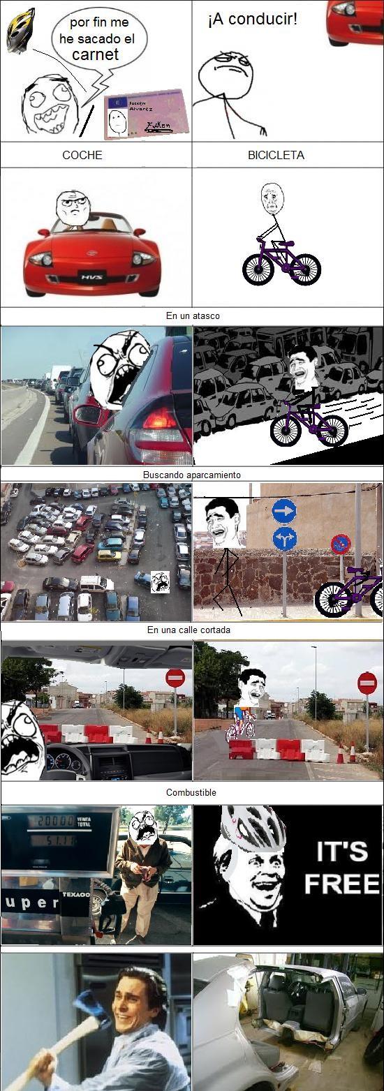 Pat_bateman - Coche vs bici