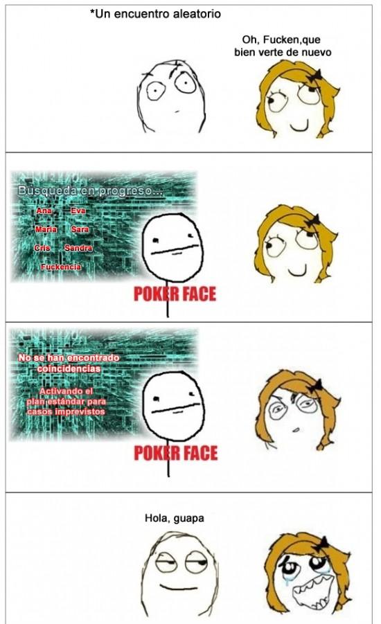 Pokerface - Cuando no te acuerdas del nombre