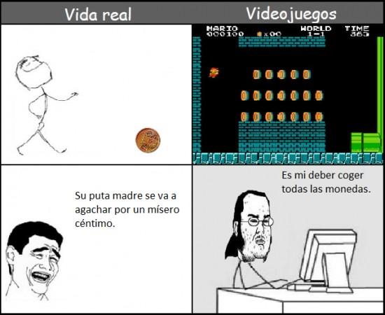 Friki - Vida real vs videojuegos