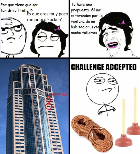 Challenge_accepted - Por todo lo alto