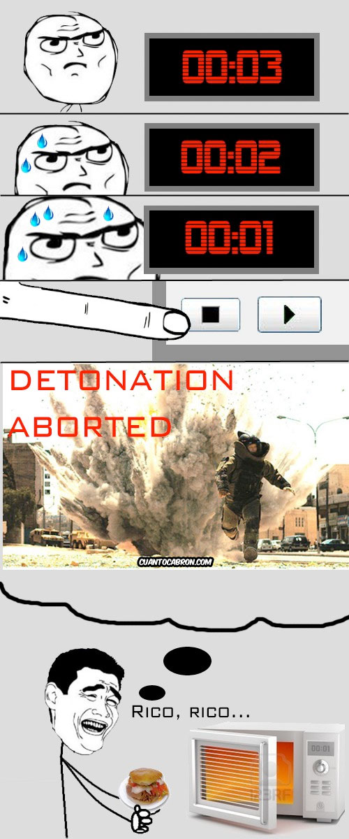 Yao - Detonation aborted
