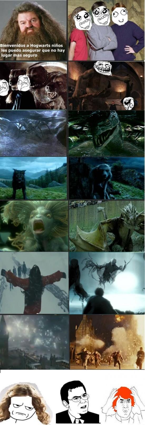 Kidding_me - ¿Sigues creyendo que Hogwarts es el lugar más seguro?