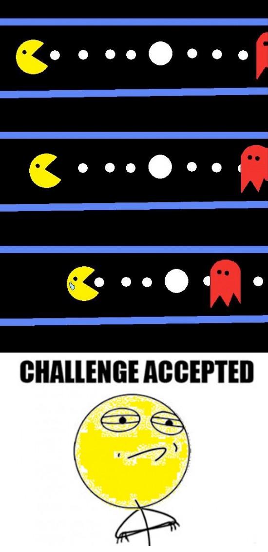 Challenge_accepted - Desafío para pacman