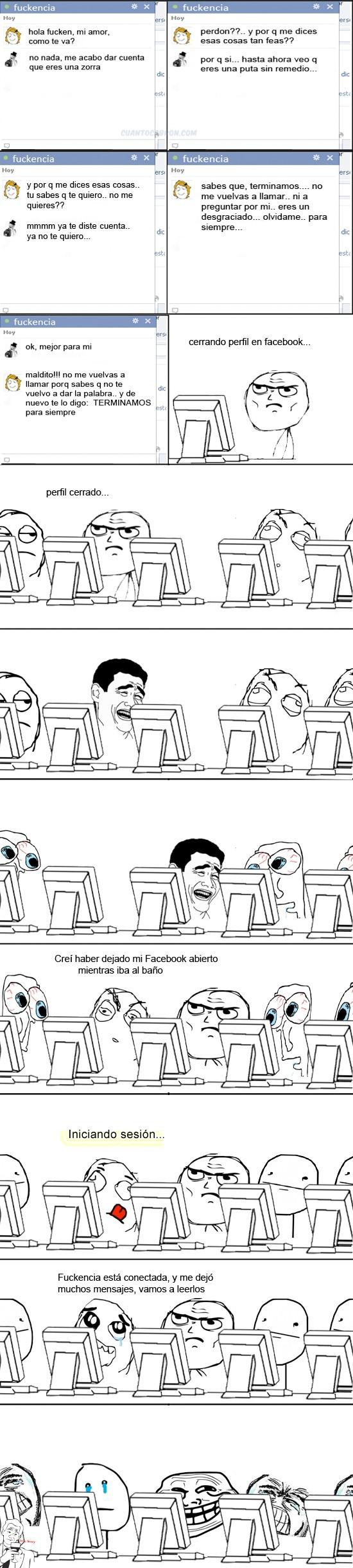 Trollface - Trolleo épico en facebook