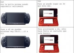 Enlace a PSP vs 3DS