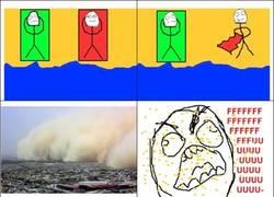 Enlace a Esas tormentas de arena que se originan cuando alguien agita la tolla