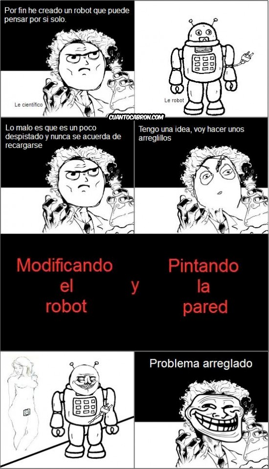 Trollface - El robot