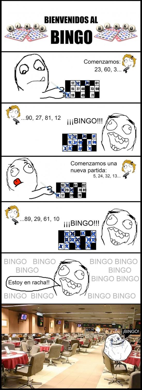 Forever_alone - Jugando al bingo