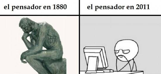 Computer_guy - EL Pensador antes y después