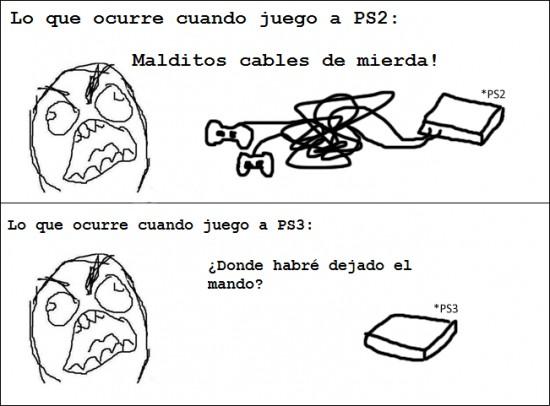 Ffffuuuuuuuuuu - PS2 vs. PS3