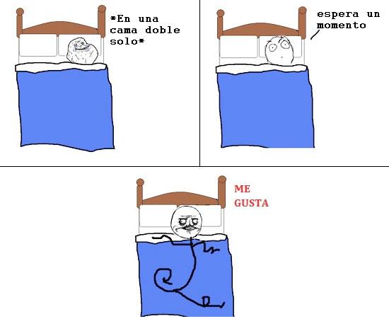 Me_gusta - Dormir solo es mejor