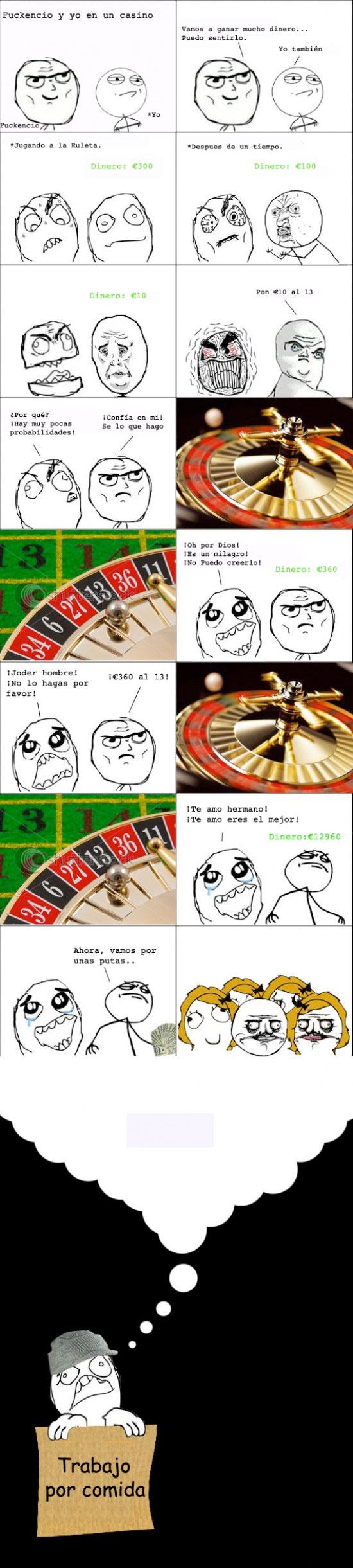 Ffffuuuuuuuuuu - En el Casino