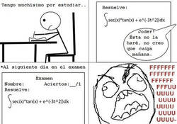 Enlace a Suerte en el examen