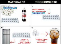 Enlace a Experimento Coca-Cola / Mentos