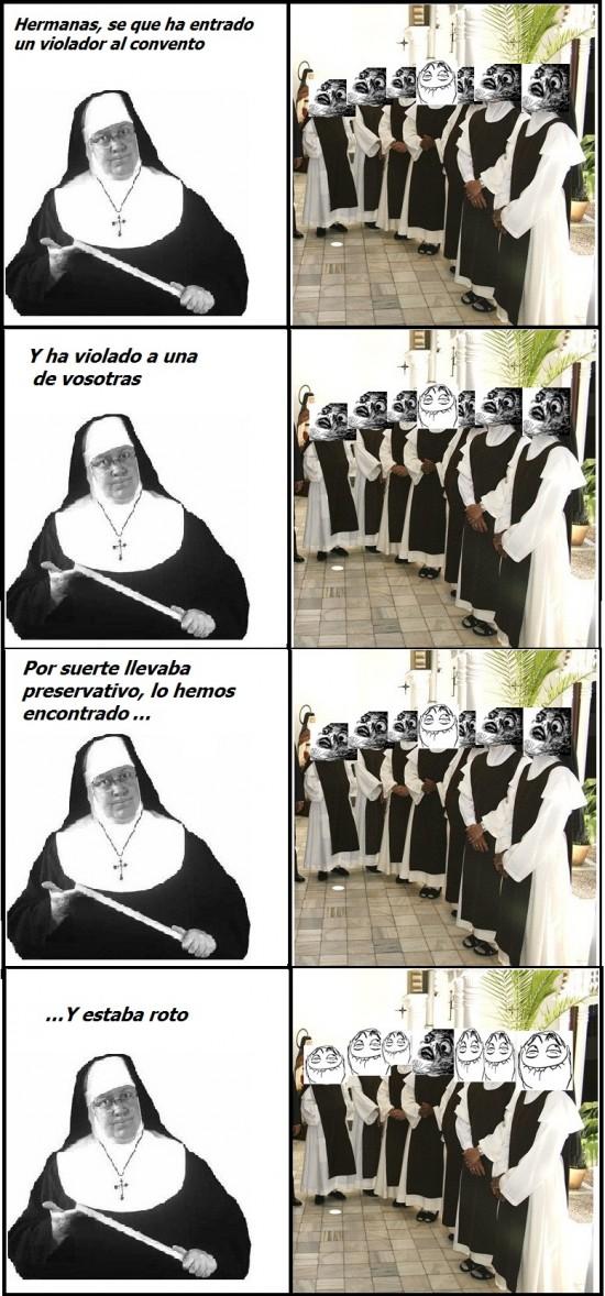 convento,monja,violacion