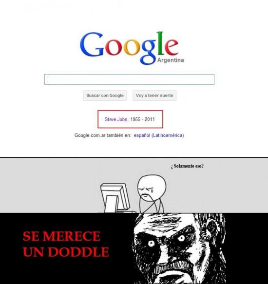 doddle,fecha,google,steve jobs