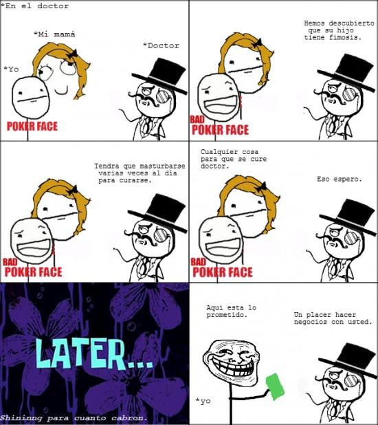 doctor,fimosis,poker face,trollface