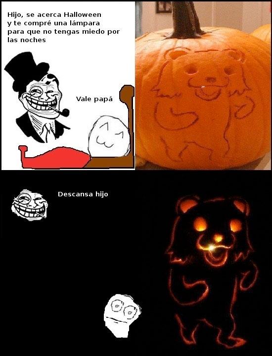Trolldad - Papá cabrón en Halloween