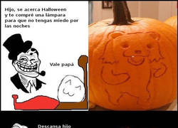 Enlace a Papá cabrón en Halloween