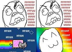 Enlace a NyanCat me hace feliz