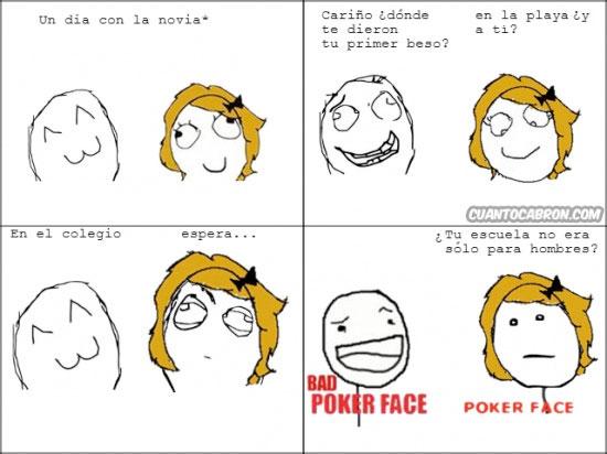 Pokerface - ¿Dónde fue tu primer beso?