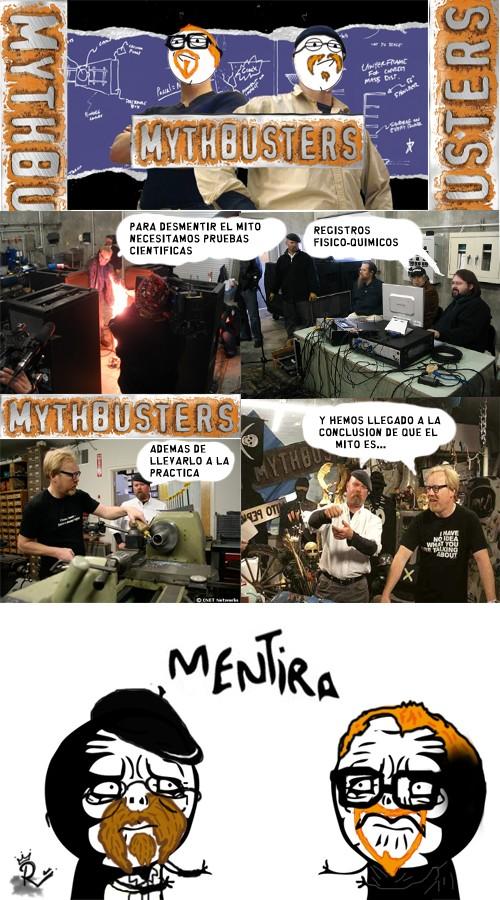 Mentira,Mithbusters,Mito