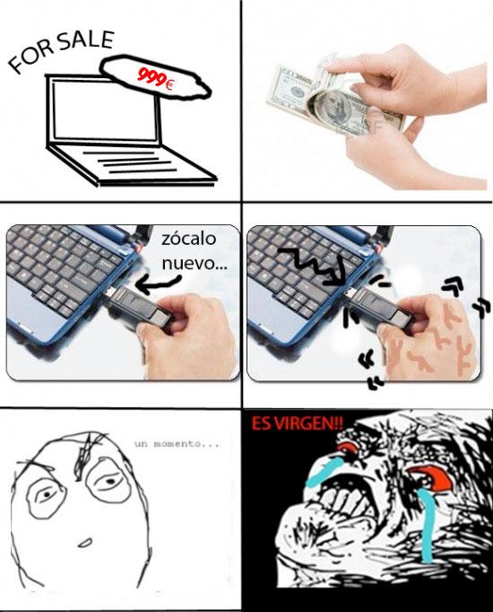 Inglip - La primera vez de mi laptop
