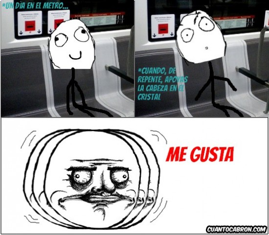 Me_gusta - En el metro