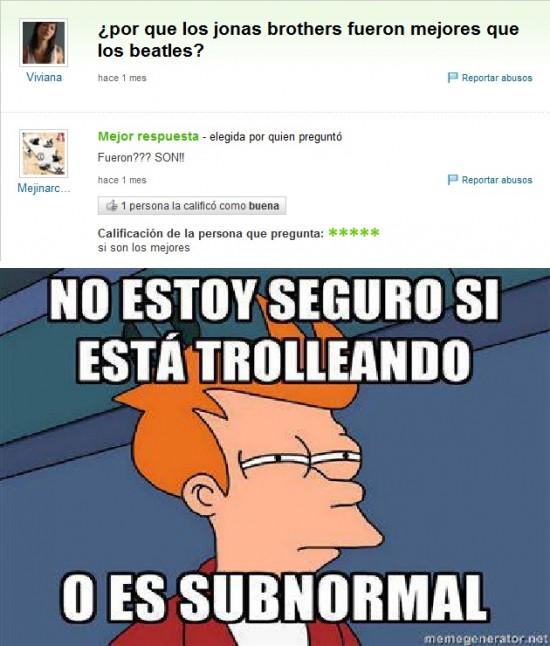 Fry - ¿Trolls o subnormales?