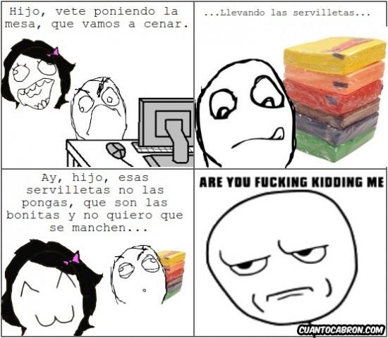 Kidding_me - Lógica maternal