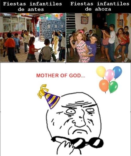 Antes y Ahora,Fiestas,Infantiles