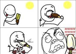 Enlace a Maldito helado