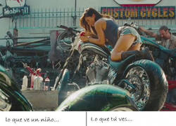 Enlace a Una moto... espectacular