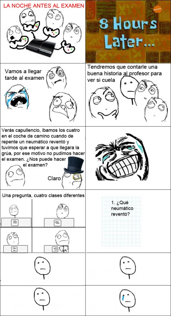 Pokerface - Examen