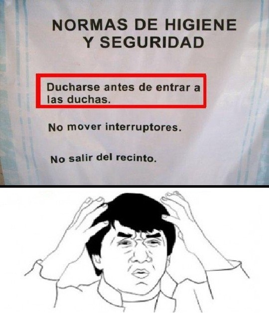 bucle,ducha,infinito,jackie,serious,wtf