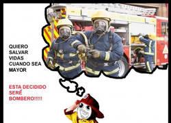 Enlace a Quiero ser bombero